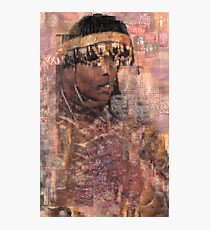 Pictograph Queen Photographic Print