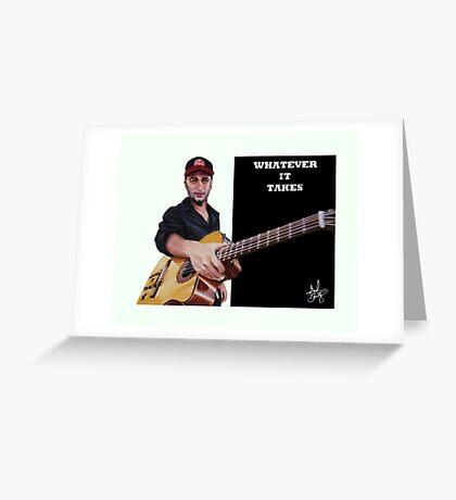 Tom Morello: The Nightwatchman Greeting Card