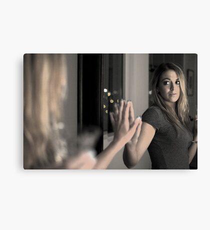 Mirror in a mirror Canvas Print