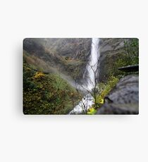 mountain of water Canvas Print