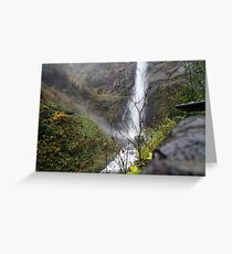 mountain of water Greeting Card