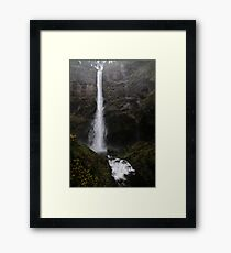 The great Lean in Framed Print