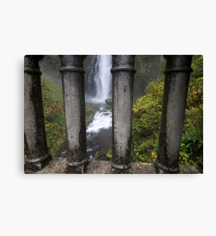 Jail of water Canvas Print