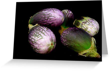 Kirsten Smith's 'aubergine gathering' by Art 4 ME