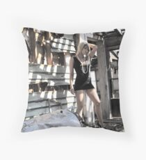 pretty in the ugly Throw Pillow