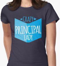 Crazy Principal Lady T-Shirt