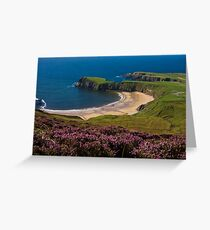 silver strand Greeting Card