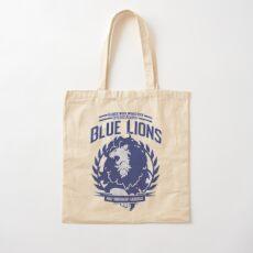 Blue Lions Class Cotton Tote Bag