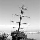 Ship Wreck by CallinoisArt