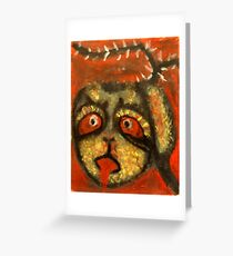What you own will always come home (The Monkat Fruit) Greeting Card