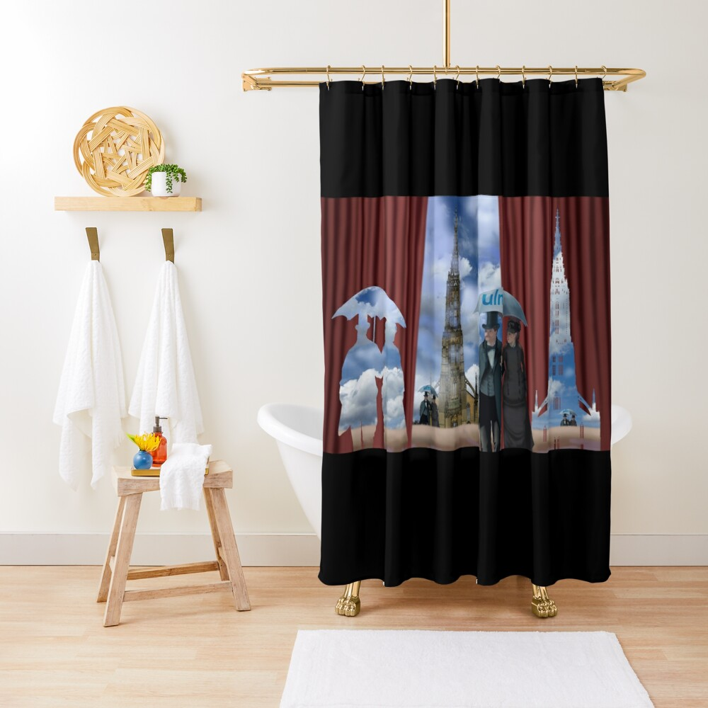Seasons Magrittings from Ulm Shower Curtain