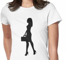 Business Woman Womens Fitted T-Shirt