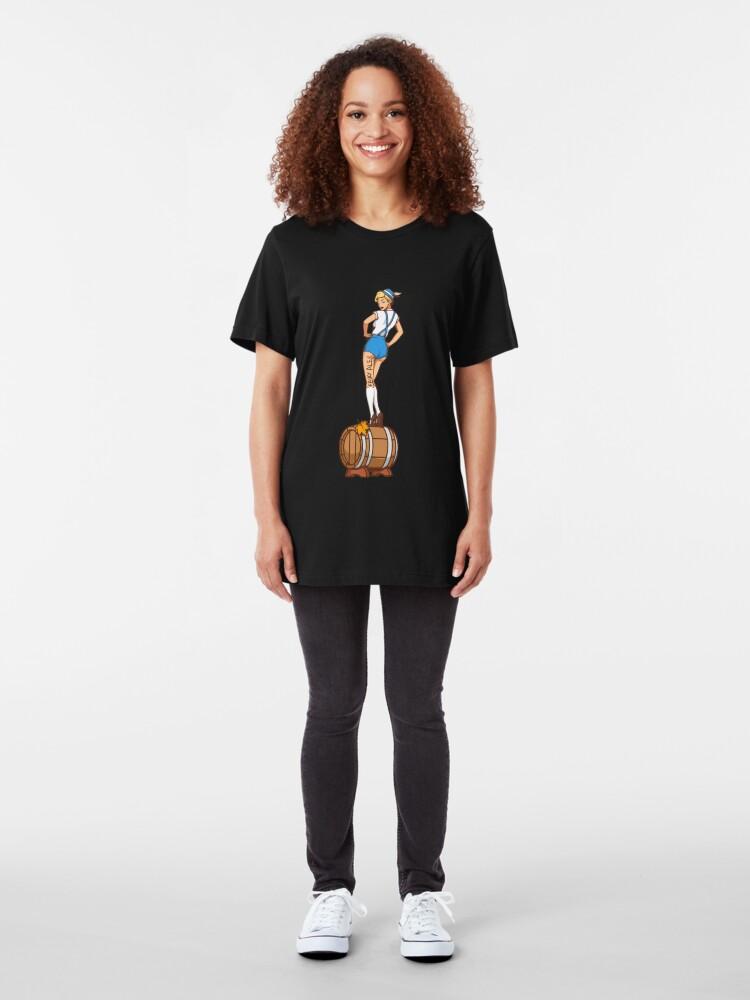Alternative Ansicht von Fairy Ale - Pale Ale Slim Fit T-Shirt