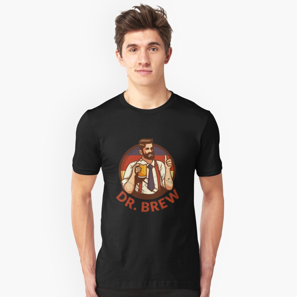 Doctor Brew - Craft Beer Slim Fit T-Shirt