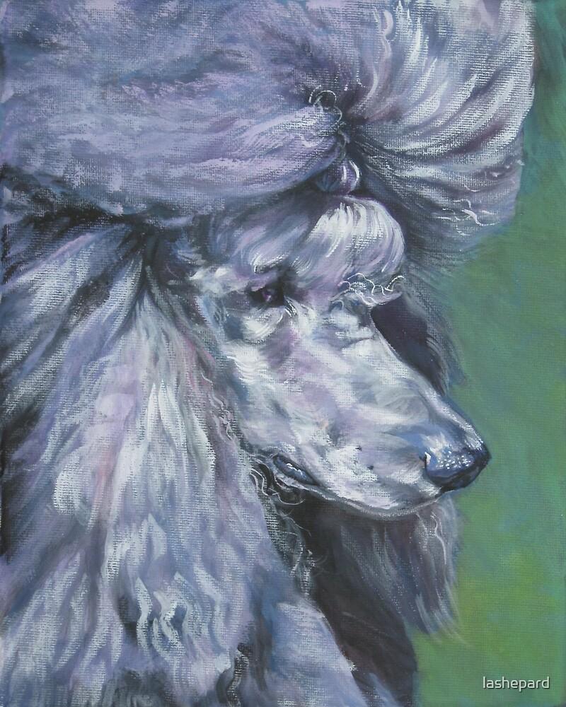 Poodle Fine Art Painting by lashepard