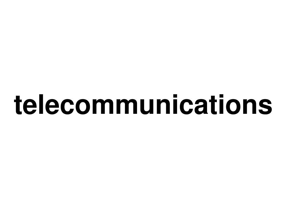 telecommunications by ninov94