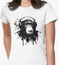 Monkey Business Women's Fitted T-Shirt