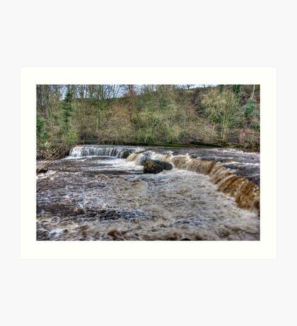 Aysgarth Falls - Wensleydale Art Print