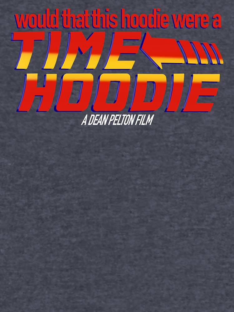 Time Hoodie by itsaduckblur