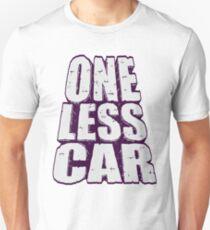 one less car 2 Unisex T-Shirt