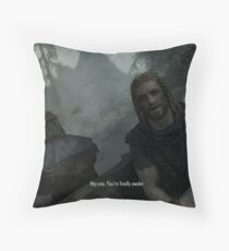 Skyrim Pillows Amp Cushions Redbubble