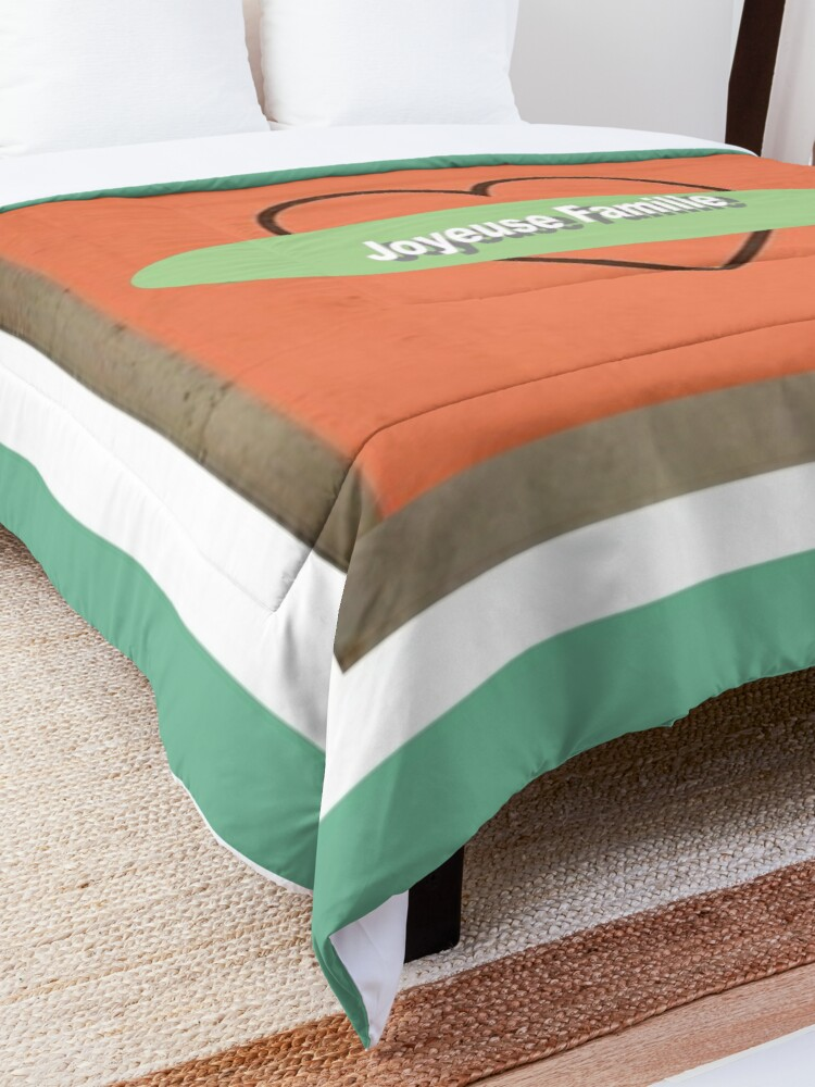 Alternate view of Copie de Happy Family Comforter