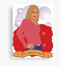 Doctor Who: The girl he loved - Rose Tyler Canvas Print
