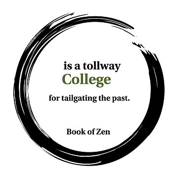 College Education Quote by bookofzen
