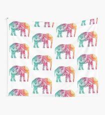 Warm Elephant Tapestry