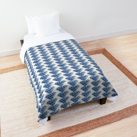 Bernie SuperEmpowered (Blue) Comforter