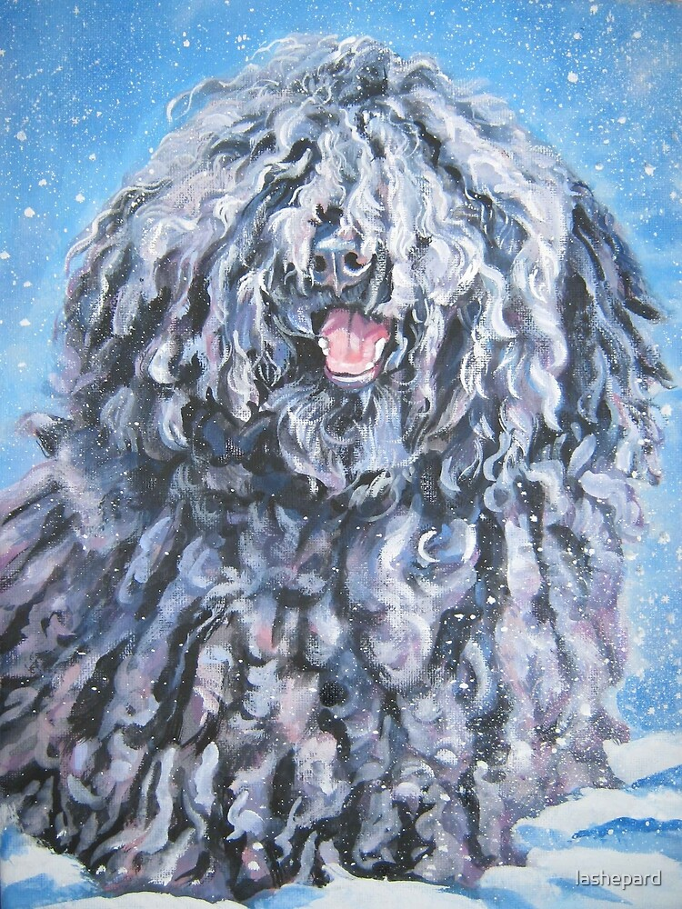 Puli Fine Art Painting by lashepard