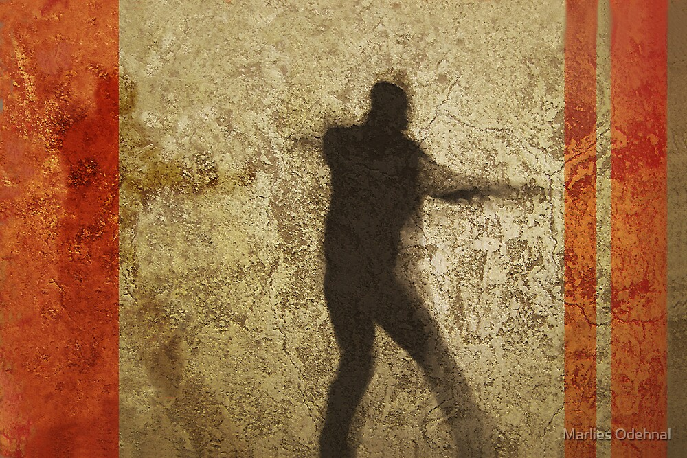 Shadow boxing by Marlies Odehnal