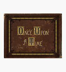 Once Upon A Time Book Photographic Print