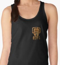 Rusty the Cyberman, Small Chest Emblem Women's Tank Top