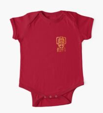 Rusty the Cyberman, Small Chest Emblem One Piece - Short Sleeve