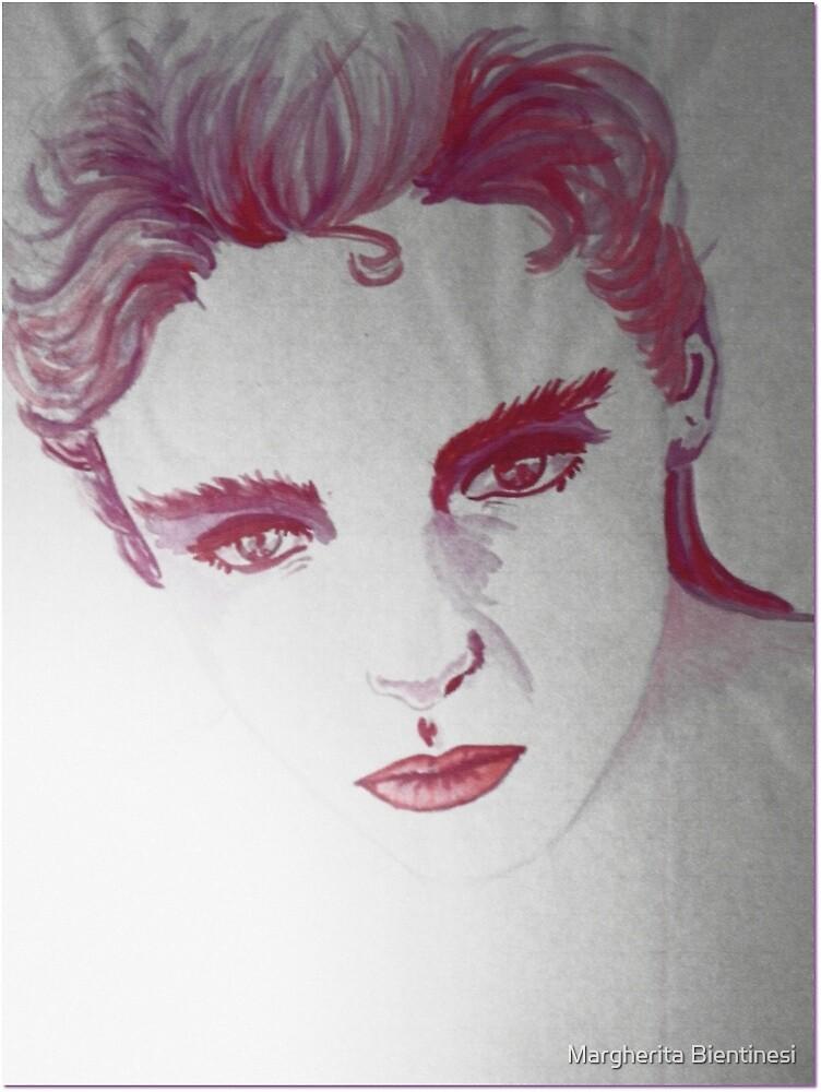 purple eyes by Margherita Bientinesi