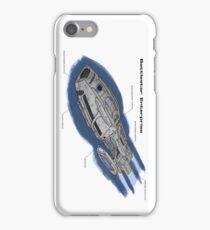 Battlestar Enterprise NX-1701-F iPhone Case/Skin
