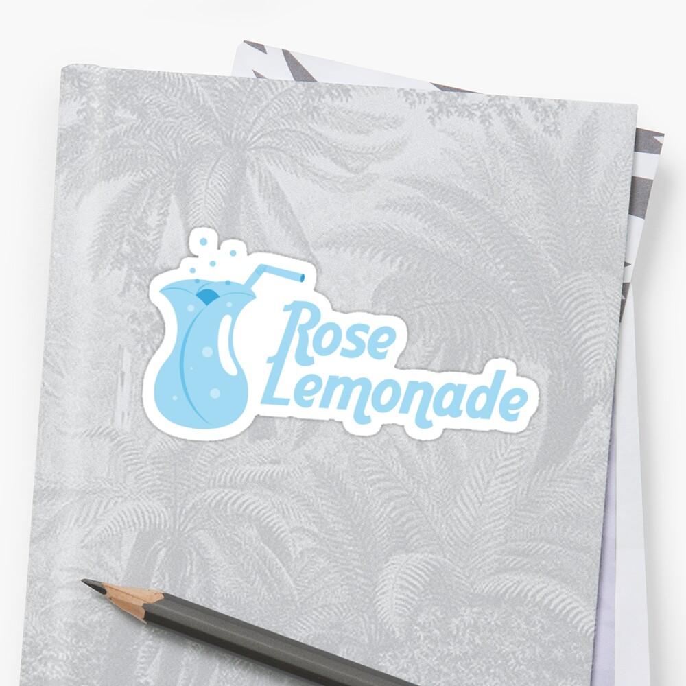 Blue Rose Lemonade Sticker