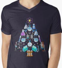 Oh Chemie, oh Chemikerbaum T-Shirt mit V-Ausschnitt