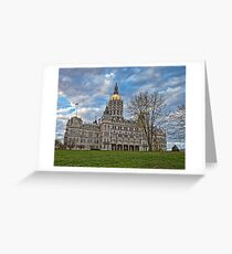 State Capitol Building - Hartford, CT Greeting Card
