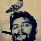 Che and the pigeon by givemefive