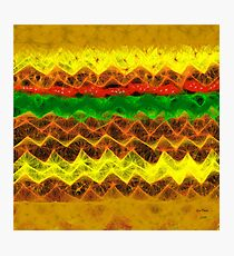 CHEESE BURGER  Photographic Print