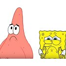 spongebob and patrick  by pgracew