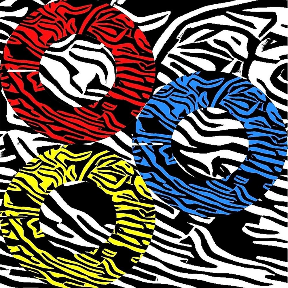 THREE RING CIRCUITS by paulvolker