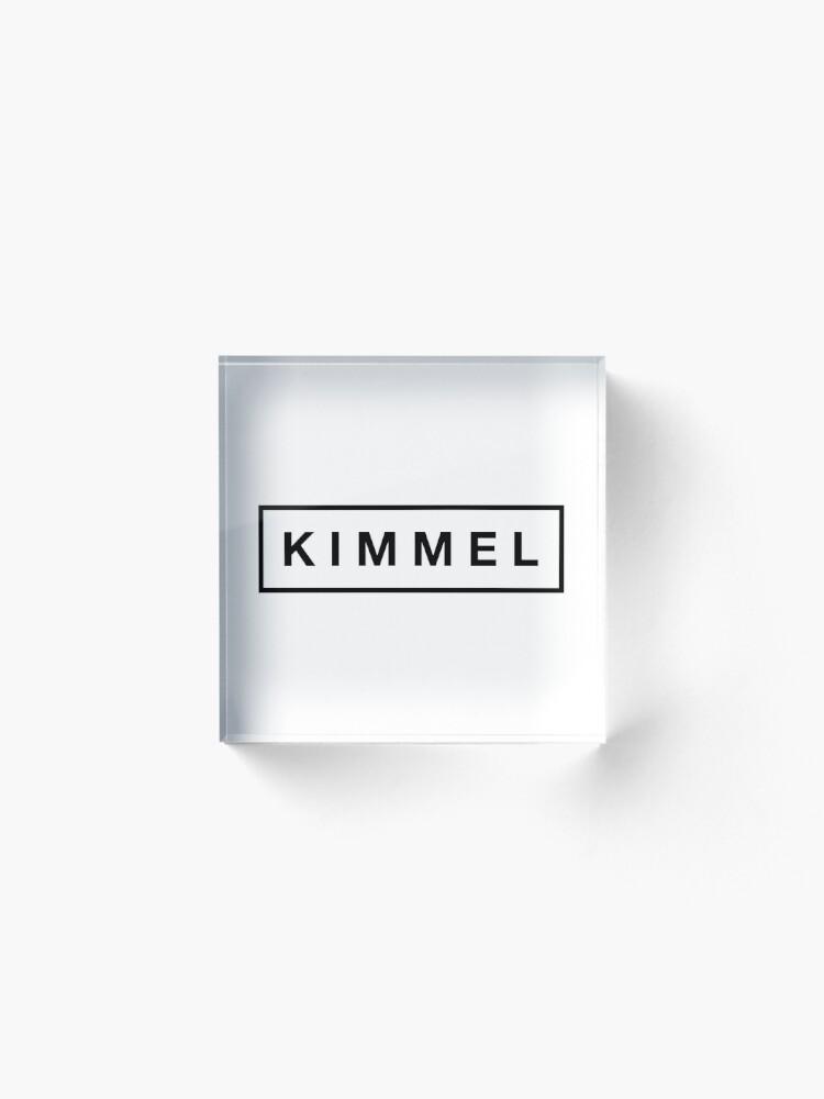 Alternate view of K I M M E L Acrylic Block