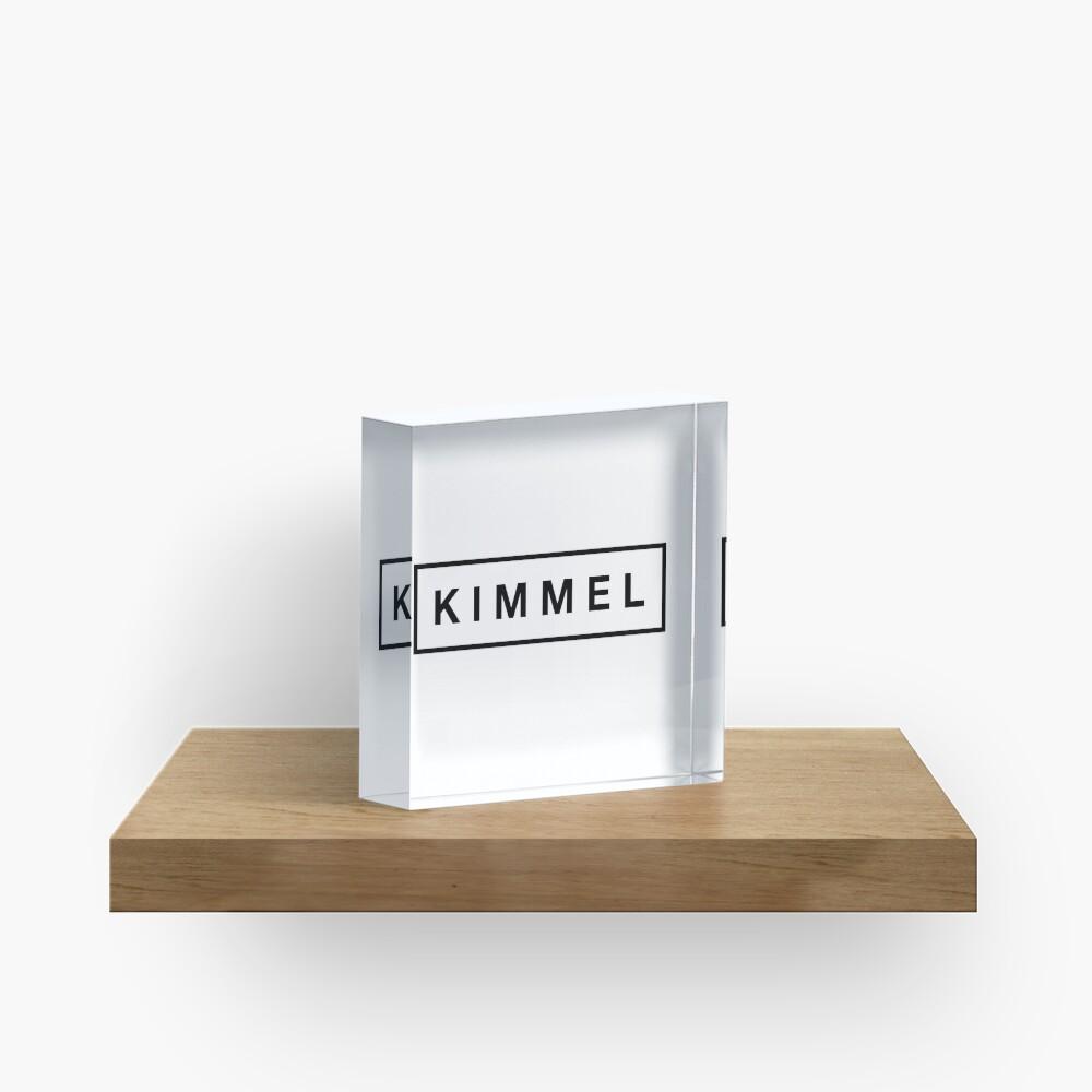K I M M E L Acrylic Block