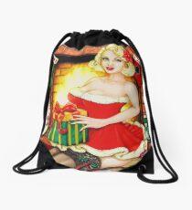 Christmas Eve Drawstring Bag