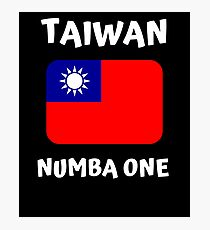 TAIWAN NUMBER ONE Photographic Print