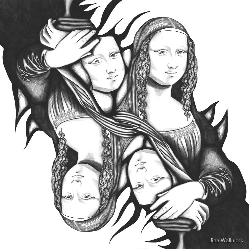 Mona Lisa 98 by Jina Wallwork