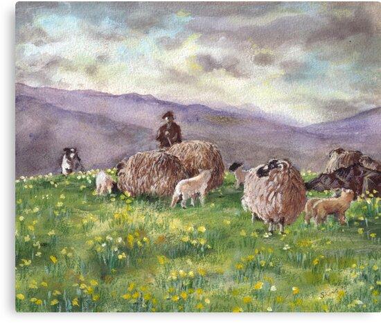 Cumbrian Fells, Eden Valley by Susan King